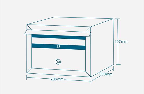 narrow size diagram